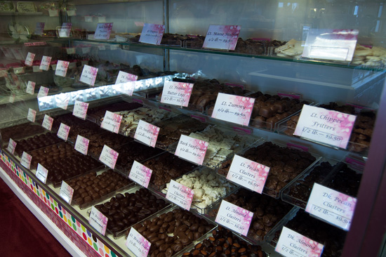 chocolate and candy assortments